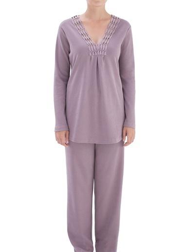 Chakra Brooklyn Pijama Takımı Mor